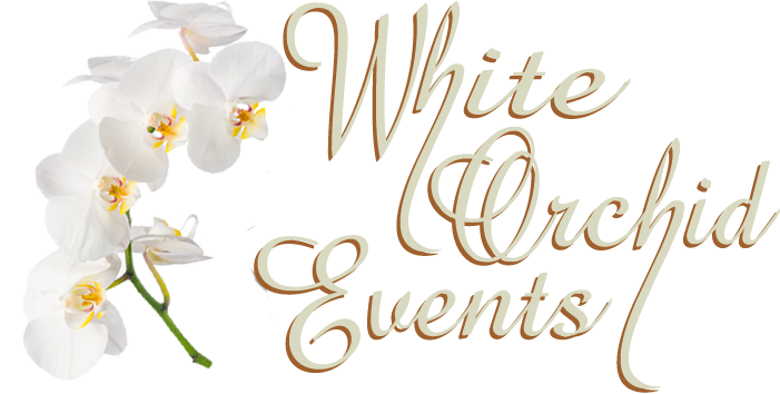 White Orchid Events Logo